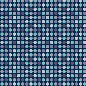 Dots for Spots (Blue)_Extra Small Scale