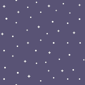 Starry Sky Noughts and Crosses (Purple)_Large Scale