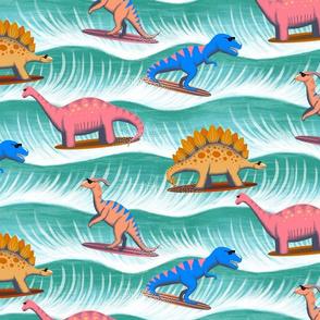 Surfosaurus - sea green - large scale