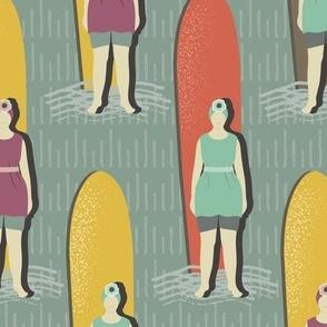Agatha Christie Was A Surfer