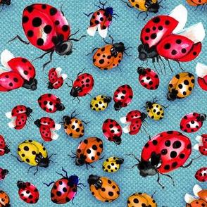 Lucky Ladybugs 8x8