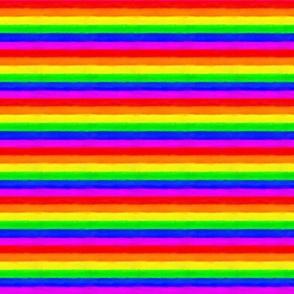 Pride Rainbow Stripes Horizontal Paint