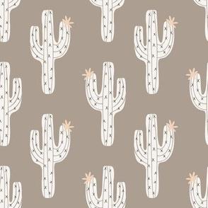 cactus climb // taupe