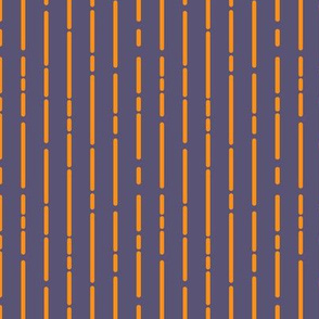 Space Stripes (Purple Orange)_Extra Small Scale