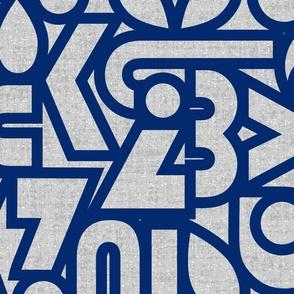 Bauhaus Chatter navy3 jumbo