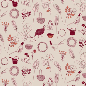 Cottage garden_earth collection