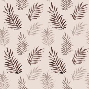 palmleaves brown