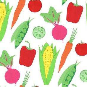 Veggies White