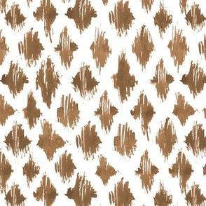 Earthy boho brushstroke pattern - abstract painted