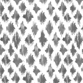 Platinum grey watercolor brush stroke texture - painted abstract pattern