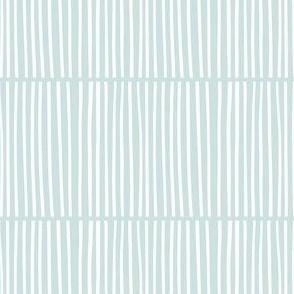 Split Stripes Mini Aqua