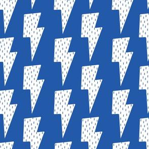 Raining Bolts   Electric Blue