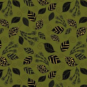 Mimetic leaves