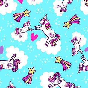 Frolicking Unicorns