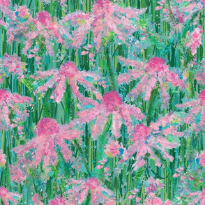 Prairie Grasses & Echinacea Wild Flower