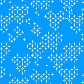 Diamond Pith - Blue