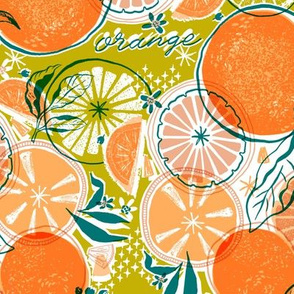 Orange Reverie - Chartreuse