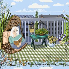 My Refuge deck Garden