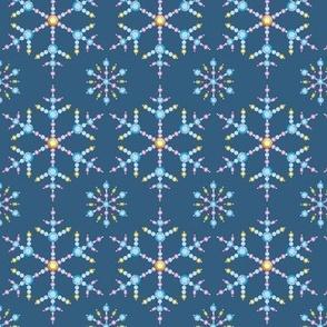 Bejeweled Snowflake Christmas Ornament