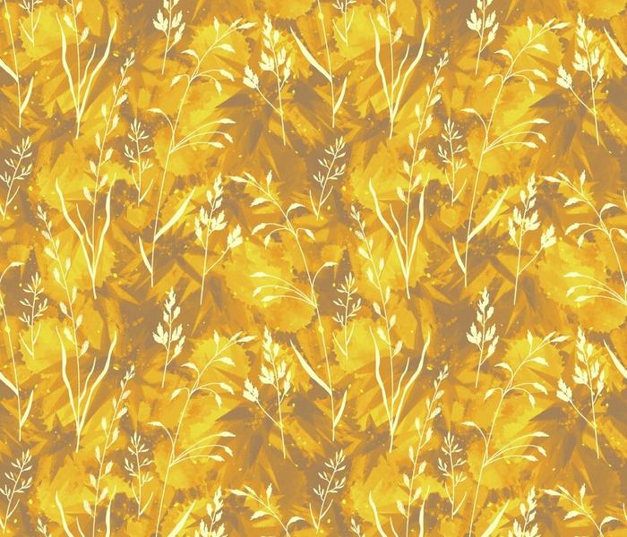 Golden Wild Grasses