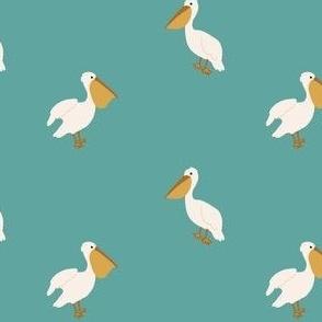 Boho Pelicans-4x3