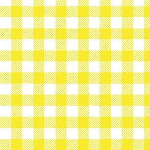 Yellow Check - Medium (Rainbow Collection)
