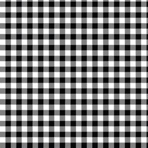 Black Check - Small