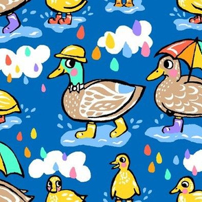 Perfect Weather for Ducks