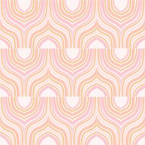 Peachy Marbeling Tiles