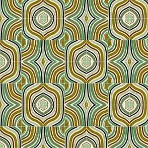 Jade Retro Rainbow Tiles