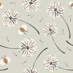 Dandelions and Bees