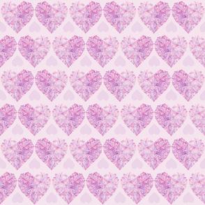 Pink Crystal Hearts
