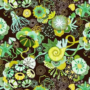 Yellena--green and yellow