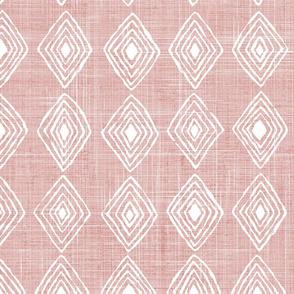 Blush pink and diamonds