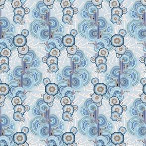 Mushroom Weave S Sky Blue