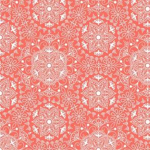 Mandala_Living Coral_50% Size