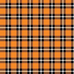 Orange Plaid - Medium (Rainbow Collection)