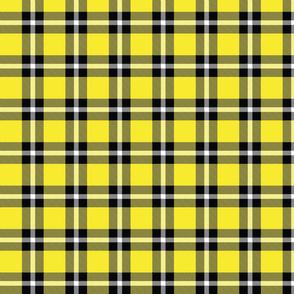 Yellow Plaid - Medium (Rainbow Collection)