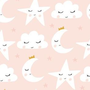 sleepy skies // light pink
