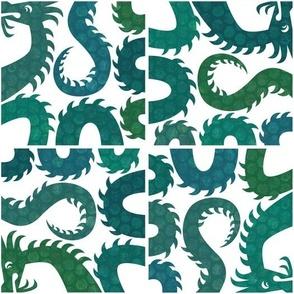 Sea Serpent Tiles