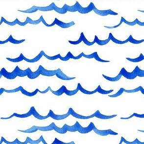 ocean waves_royal // nursery, kids, ocean waves