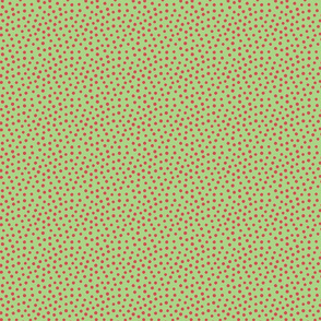 Spotty - red dots over green