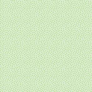 Spotty - light green over green