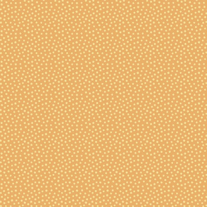 Spotty - yellow dots over orange