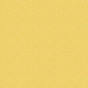 Spotty - Dark yellow dots over yellow
