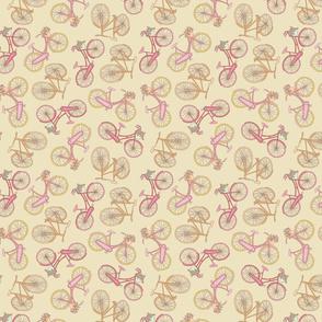 Random biking - yellow