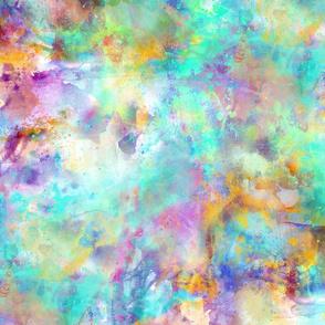 Splattered Unicorn paint ink