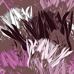 Protea abstract