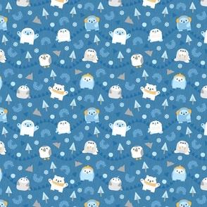 Yeti and Arctic Friends Light Blue