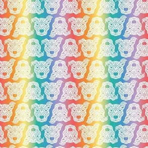 Rainbow Pitbulls - Small Scale